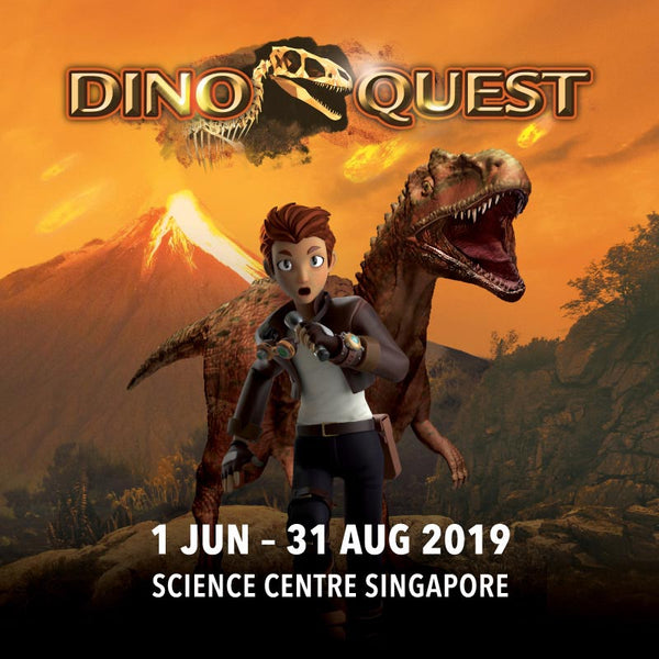 Bring Your Little Ones on a Thrilling DinoQuest!