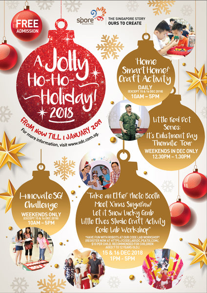 Spend A Jolly Ho-Ho-Holiday with Your Little Ones at Singapore Discovery Centre!