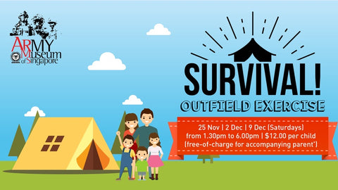 Things to do this Weekend: Survival Camp!