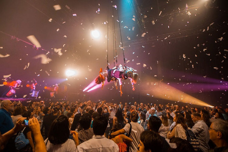 Fuerza Bruta at Singapore Night Festival