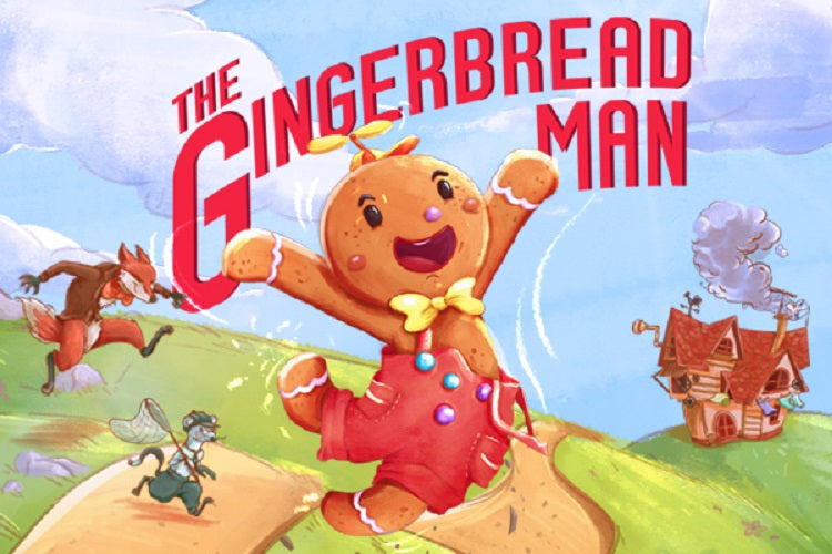 Follow The Gingerbread Man's Journey! [Inclusive Event]