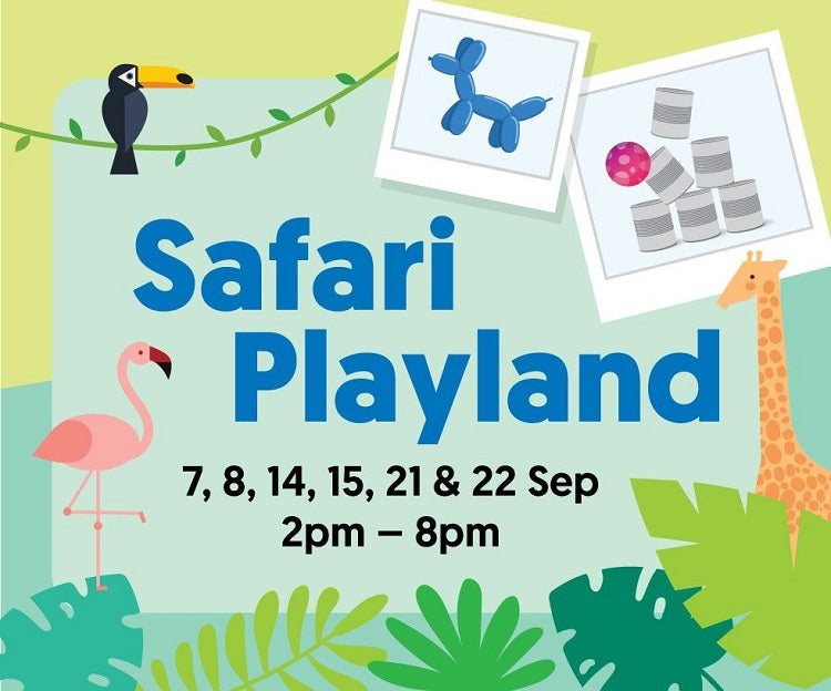 Bring Your Little Ones for a Fun Playtime at Safari Playland!