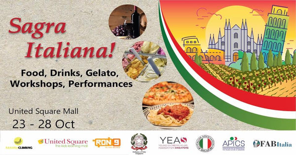Join in the Italian Festival Sagra Italiana with Your Little Ones!