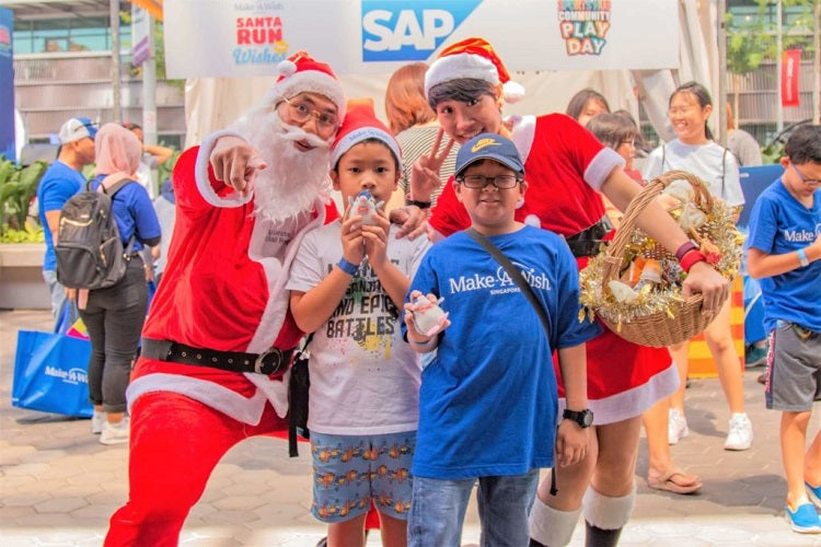 Year-End Holidays 2019 - Santa Run for Wishes & Carnival