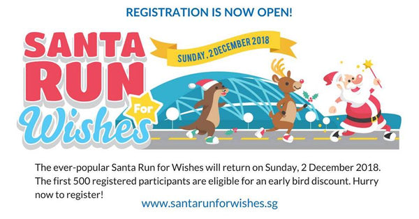 Take Part in the Santa Run for Wishes 2018 + Christmas Carnival with Your Little Ones!