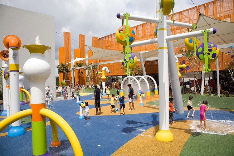 Free Outdoor Playgrounds in the North - Sembawang Shopping Centre