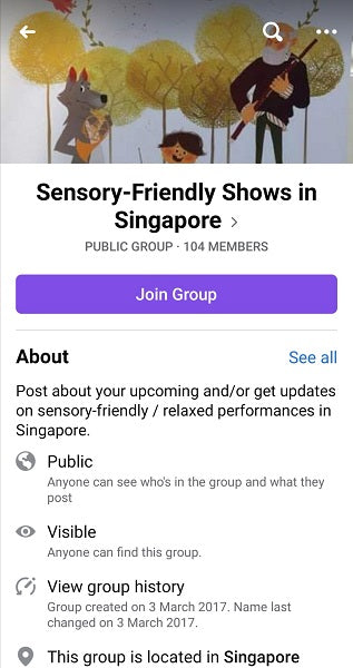 Sensory-Friendly Shows in Singapore
