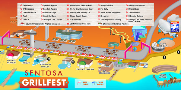 6 Foodie Experience to Not Miss at this Singapore Food Festival! - Sentosa GrillFest
