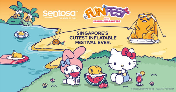 Sentosa FunFest with Sanrio Characters: Singapore's Cutest Inflatable Festival Ever