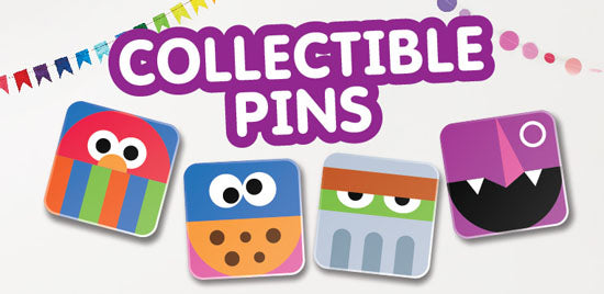 Sesame Street Collectible Pins