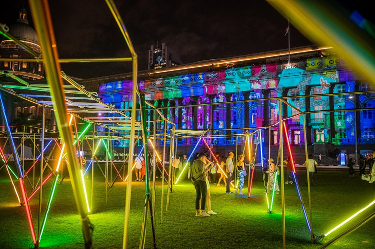 Festivals in Jan 2020 - Singapore Art Week (Light to Night Festival)