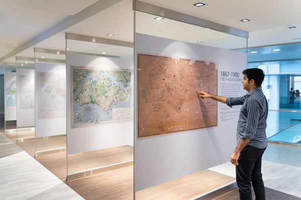 Behold Our Nation's Evolution Through the Years at Singapore City Gallery