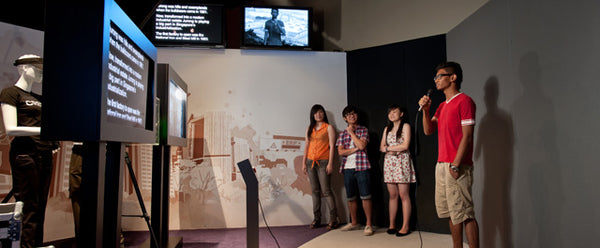 Become a Reporter for a Day at the Singapore Discovery Centre