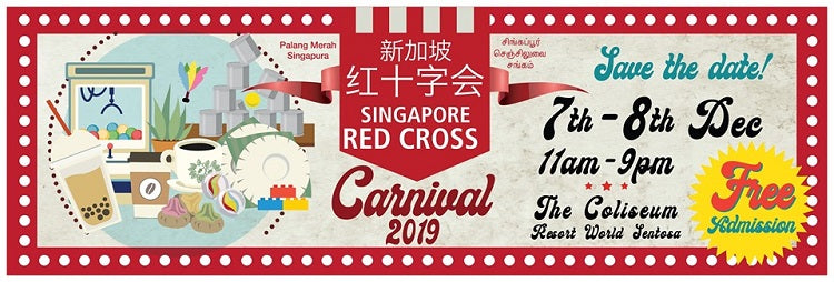 Year-End Holidays 2019 - Singapore Red Cross Year End Carnival 2019