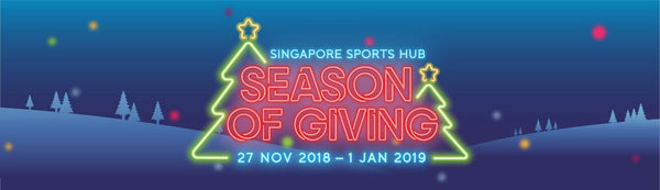 Celebrate the Season of Giving with Your Little Ones at Singapore Sports Hub!