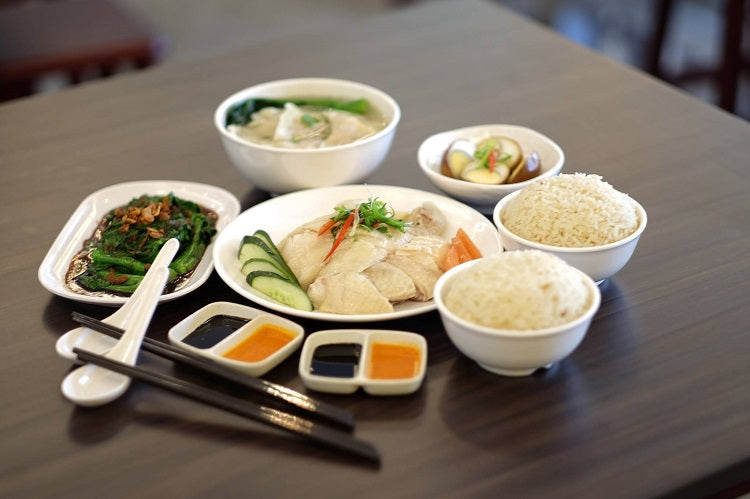Zi Char & Hawker Stalls with Free Islandwide Delivery - Sinn Ji Hainanese Chicken Rice