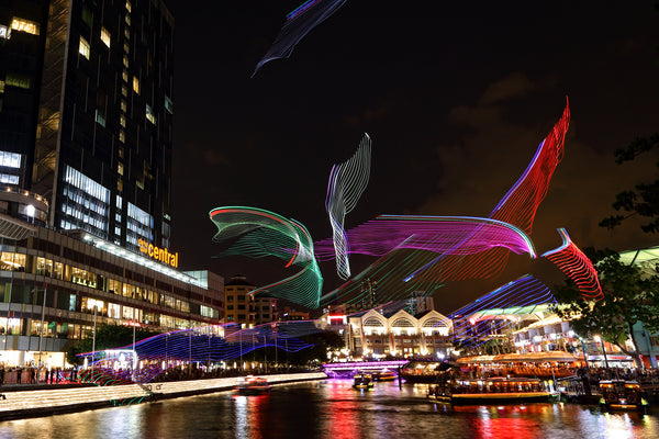 5 Things to do at Singapore River Festival 2018 with Your Little Ones! - Sky Aquarium