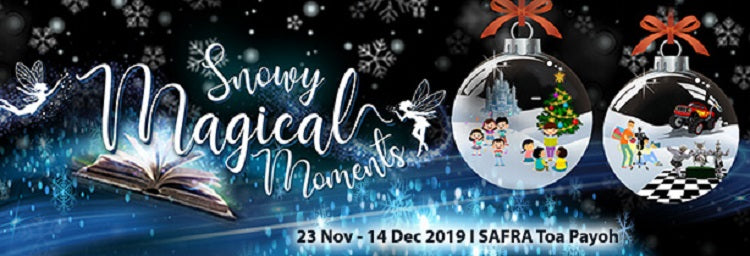 Snowy Magical Moments | SAFRA Toa Payoh