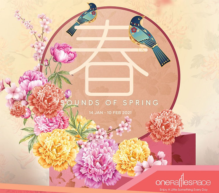 Sounds of Spring at One Raffles Place