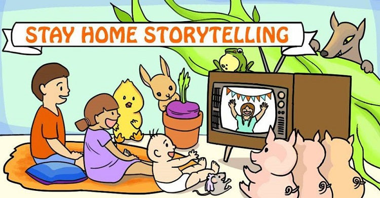 Stay Home Storytelling by The Storytelling Centre