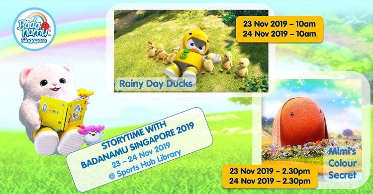 Year-End Holidays 2019 - Storytime with Badanamu Singapore