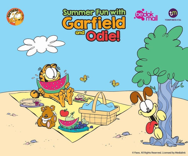 Join in the Summer Fun with Garfield and Odie!
