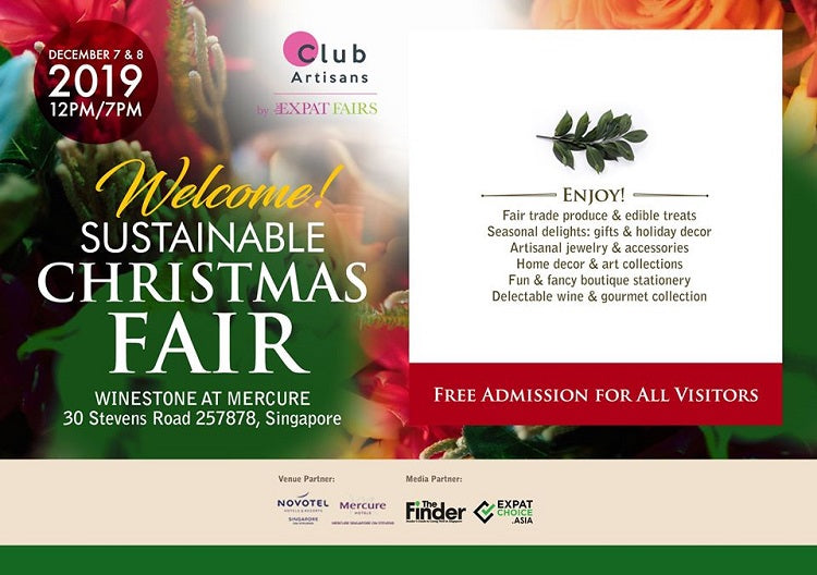 Christmas 2019 Markets, Bazaars and Fairs in Singapore - Sustainable Christmas Fair
