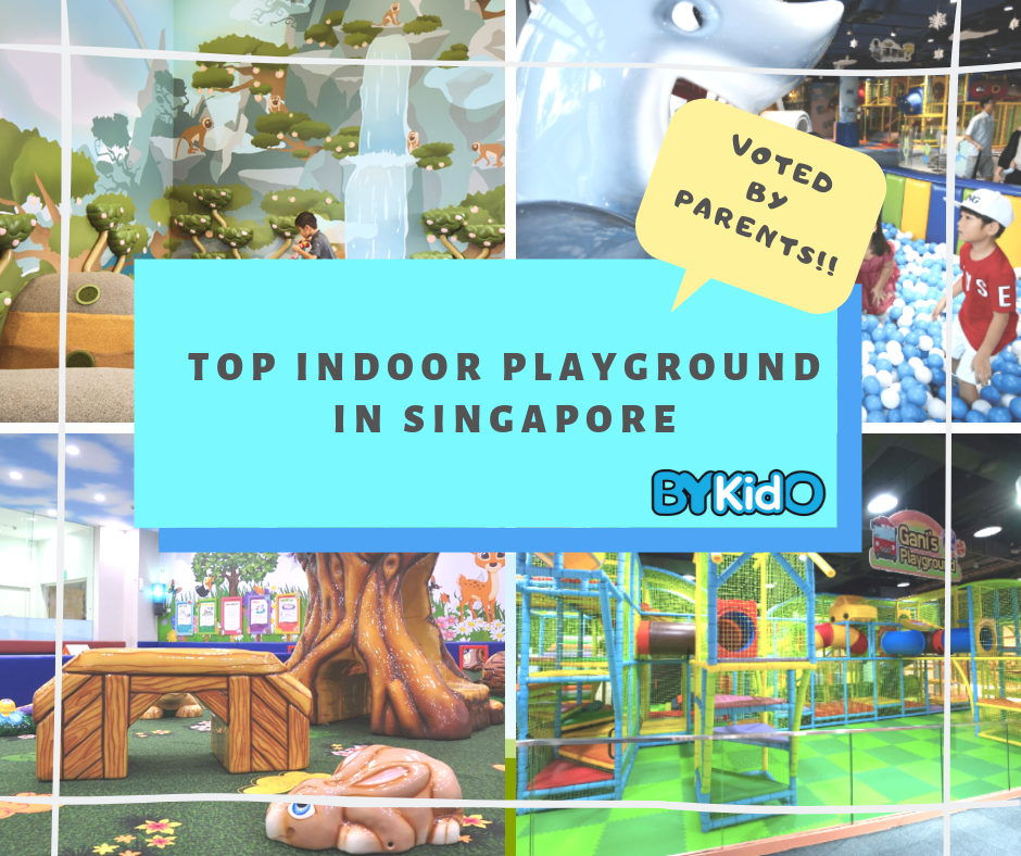 Top Indoor Playgrounds in Singapore - Voted By Parents