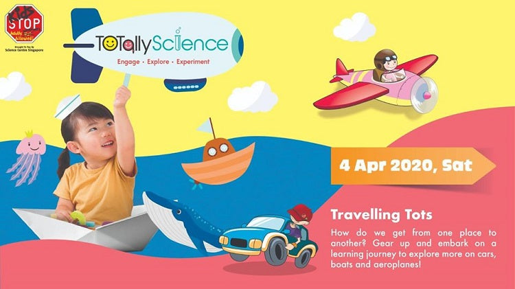 TOTally Science – Travelling Tots