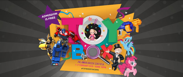 Get Ready to Play till You Drop at TOYBOX by Hasbro!