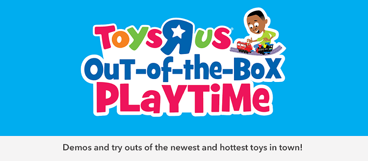 Toys R Us Out-of-the-Box Playtime