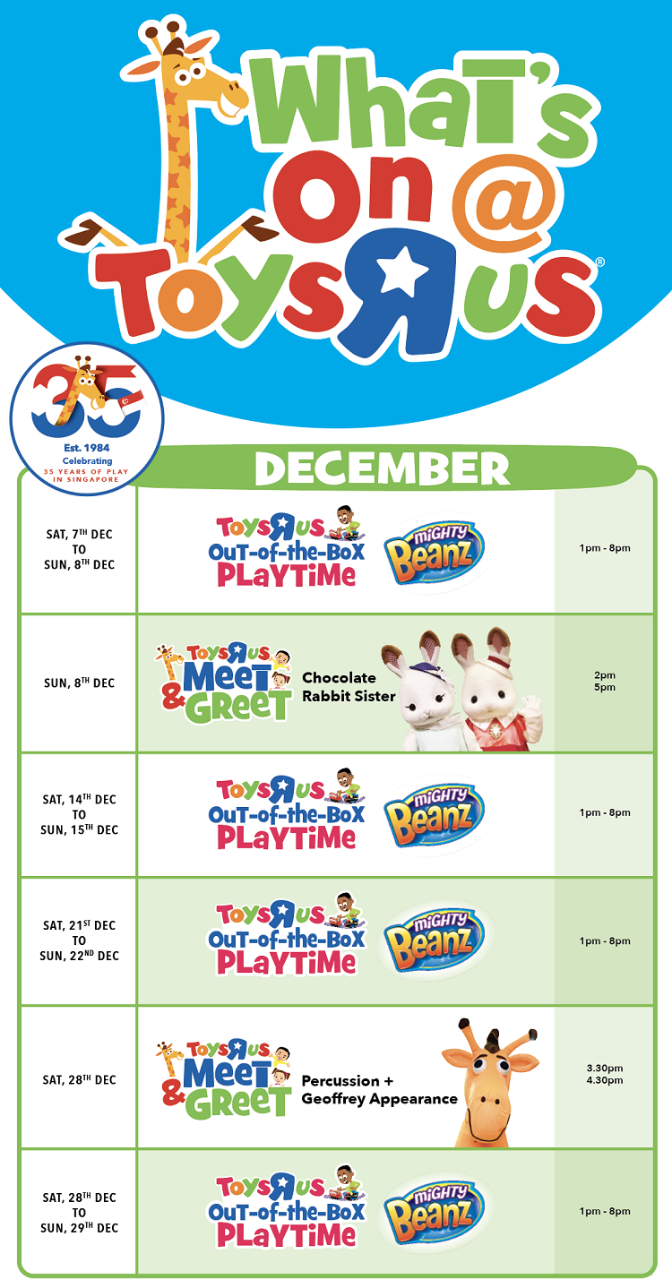 Toys R Us Out-of-the-Box Playtime: Suntec City