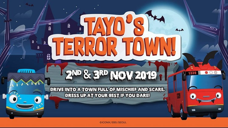 Kids-friendly Halloween Events - Tayo's Halloween Event
