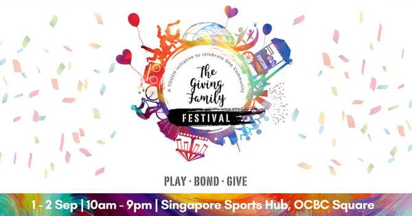 Come Make Merry for a Good Cause with Your LOs at The Giving Family Festival 2018!