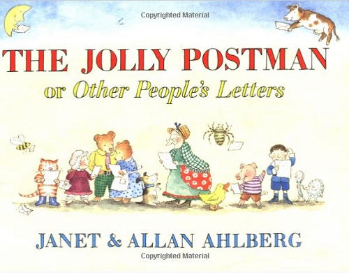 Children's Books to Read with Your Toddlers - The Jolly Postman