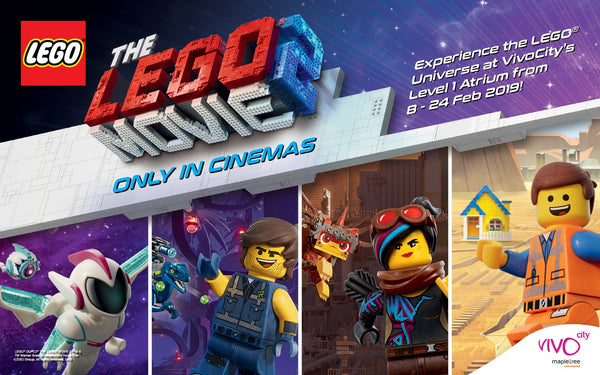 Celebrate Creativity & Imagination with VivoCity and LEGO Singapore at the Largest LEGO Movie 2 Event!