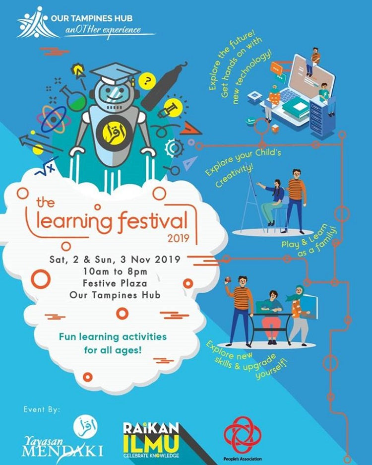 Participate in The Learning Festival!