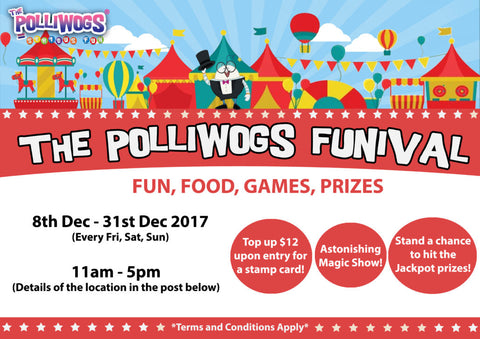 Things to do this Weekend: The Polliwogs Funival!