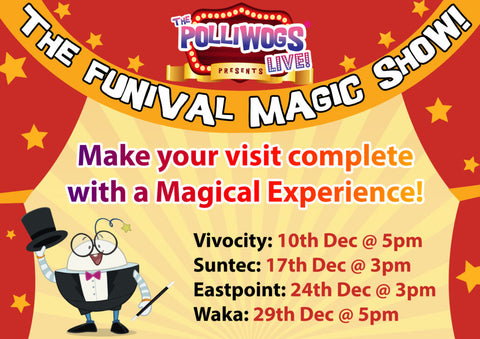 Things to do this Weekend: The Polliwogs Funival! - Magic Show