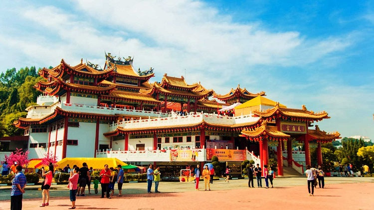 Witness the Beauty of Thean Hou Temple