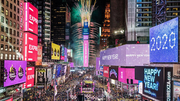 Times Square Ball Drop_New York City