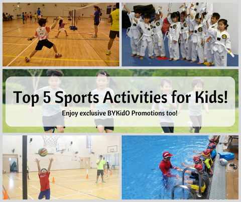Top 5 Sports Activities for Kids in Singapore
