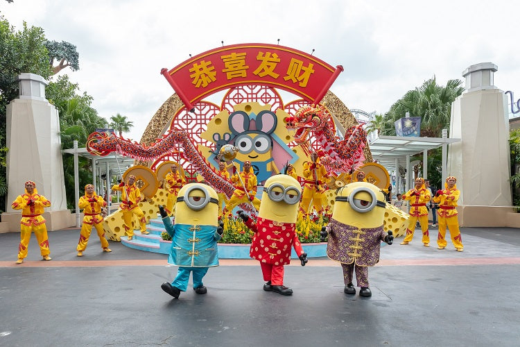 Chinese New Yeat at Universal Studios Singapore