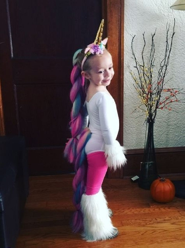 Easy and Creative Halloween Costume Ideas for Kids Better Than Buying - Unicorn