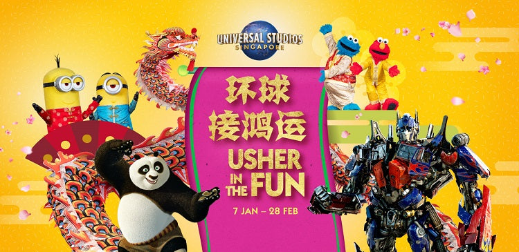Usher in the Fun at Universal Studios Singapore