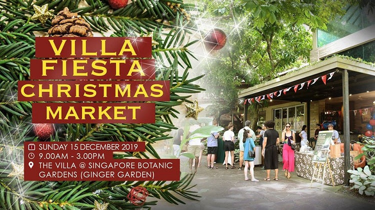 Christmas 2019 Markets, Bazaars and Fairs in Singapore - Villa Fiesta Christmas Market