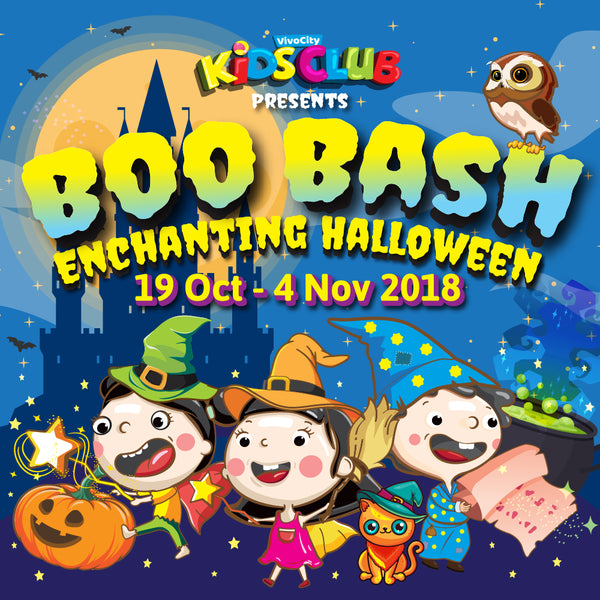 Gather Up Your Little Spooks for Boo Bash Enchanting Halloween Celebrations at VivoCity!