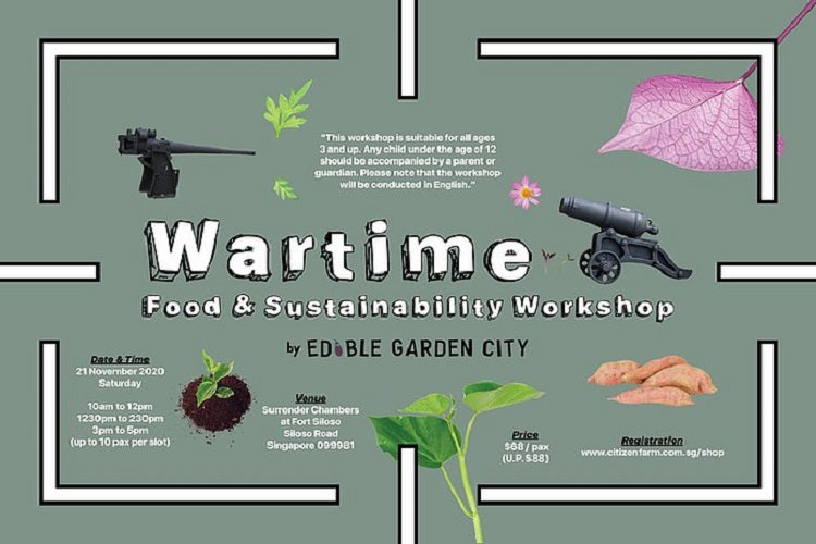 War Time Food & Sustainability Workshop