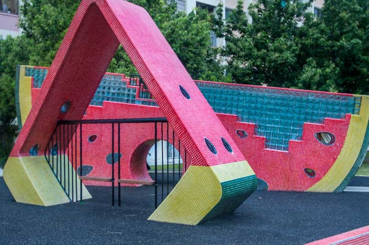 Free Outdoor Playgrounds in the East - Watermelon Playground