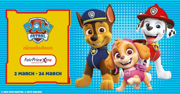 Paw Patrol at FairPrice Xtras